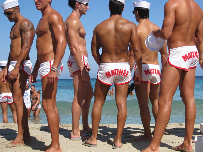 Gay beaches around the world